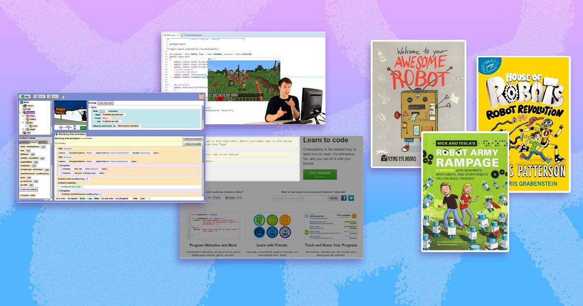 Цікаві книжки та сайти, які залучать дітей програмування