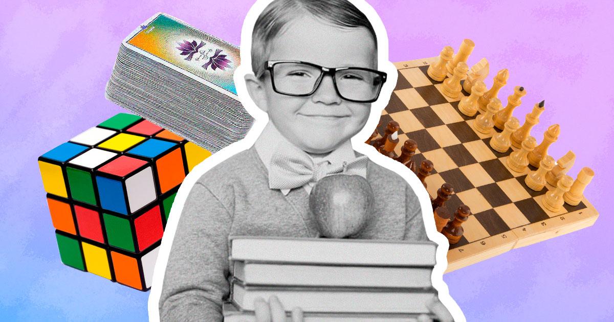 Як розвинути мозок дитини: кращі карткові, шахові та логічні ігри