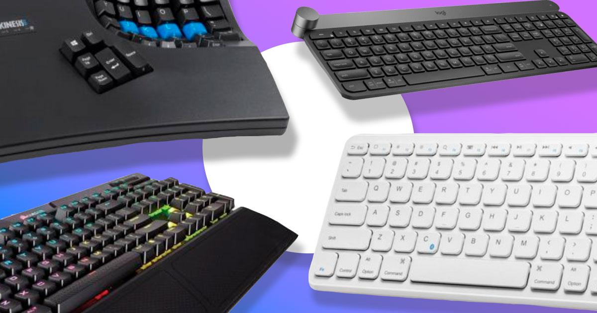 Кращі клавіатури для геймерів, дизайнерів і програмістів