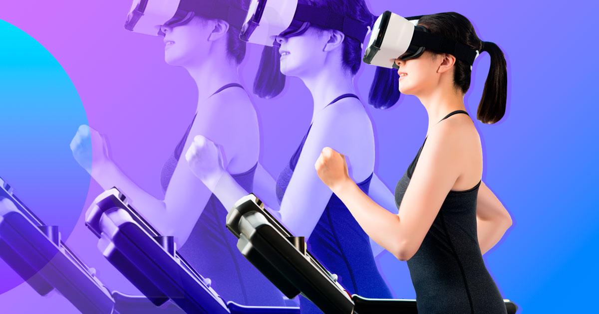 Як віртуальна реальність може зробити заняття спортом більш цікавими