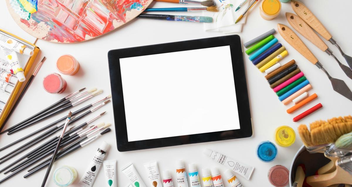 Топ-50 додатків для розвитку креативності