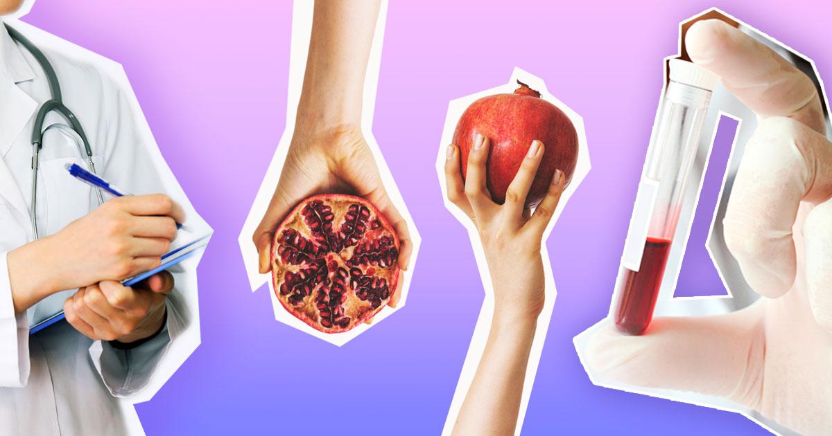 Як підняти глюкозу, гемоглобін і залізо в крові