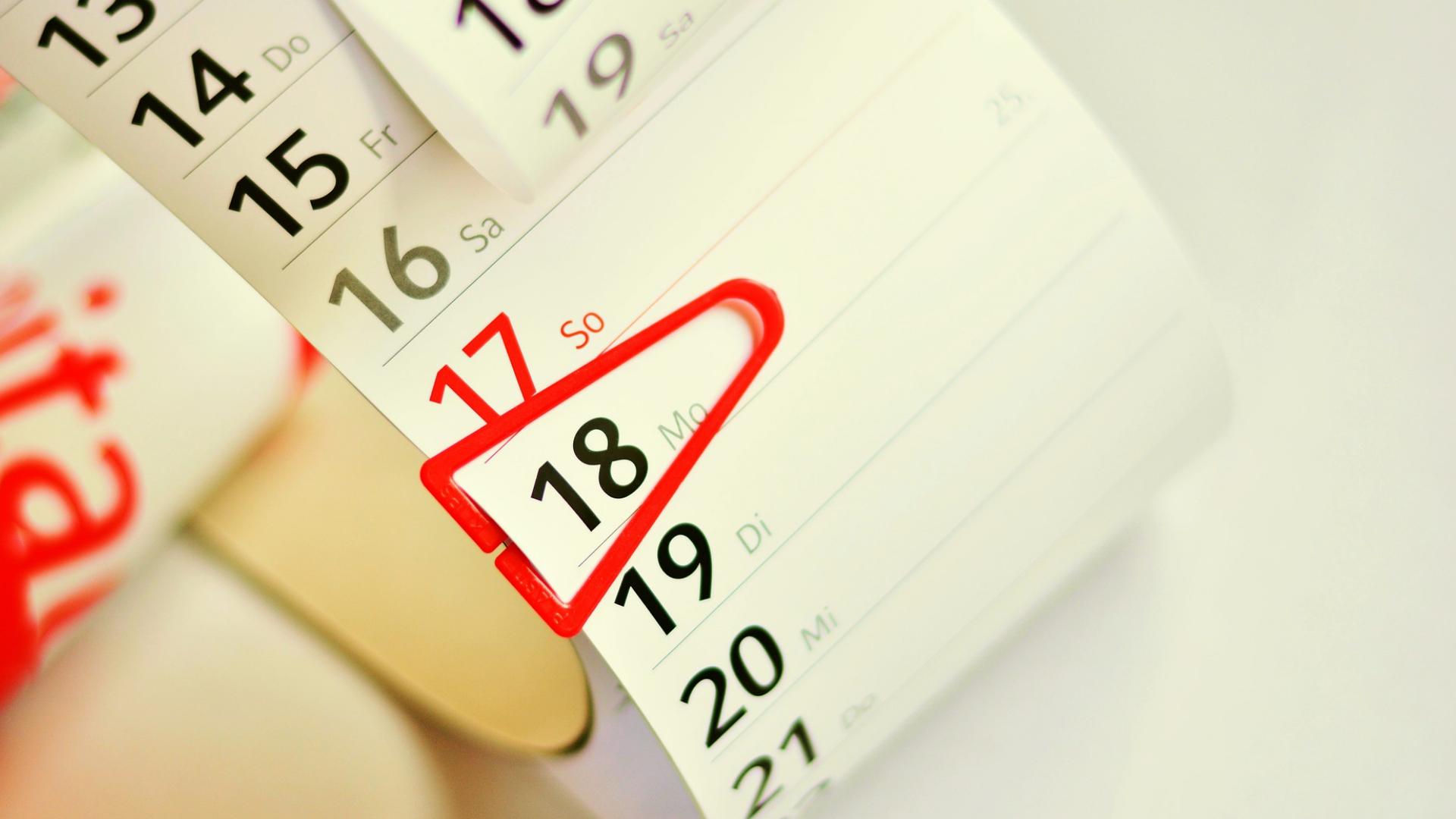 Вихідні дні в 2019 році: графік додаткових днів відпочинку і роботи