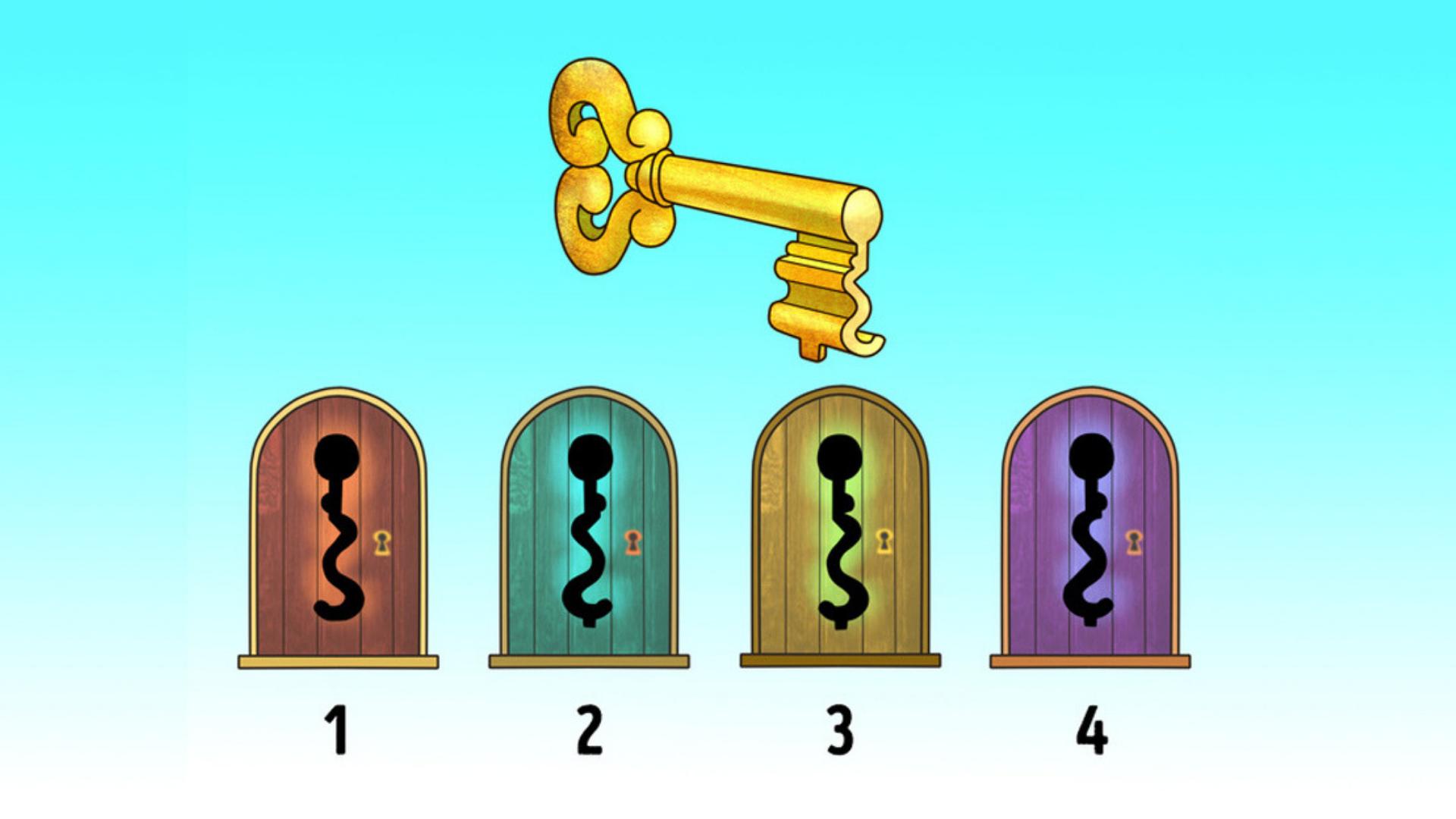 Загадка: виберіть замок, до якого ідеально підійде цей ключ