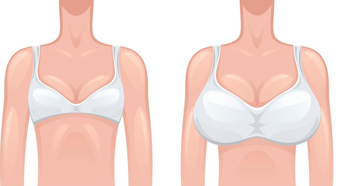 Опитування 900 жінок показав, з яким розміром грудей вони відчувають себе щасливіше всього
