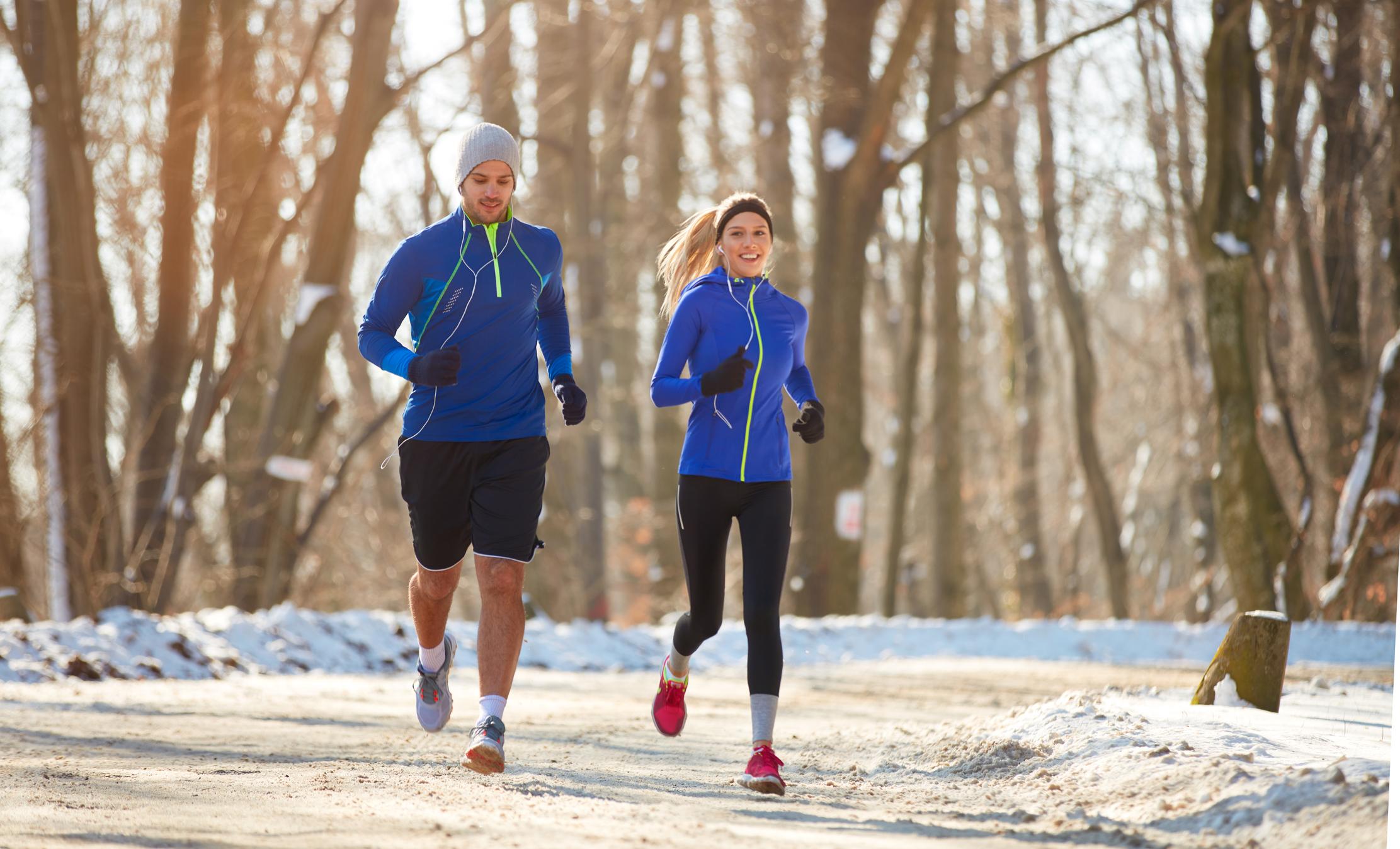 3 причини, чому варто тренуватися взимку на свіжому повітрі