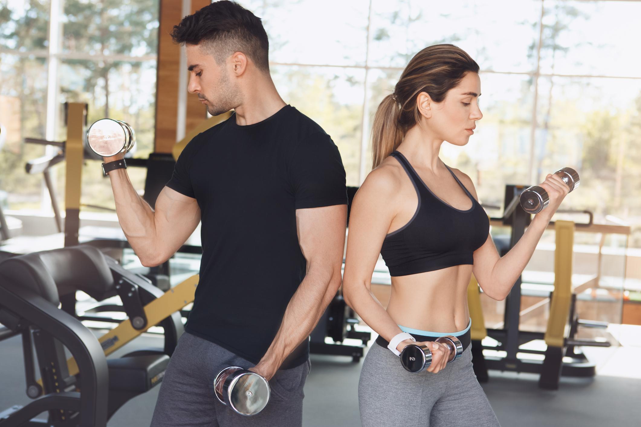 Скільки потрібно тренуватися, щоб наростити бажану м'язову масу