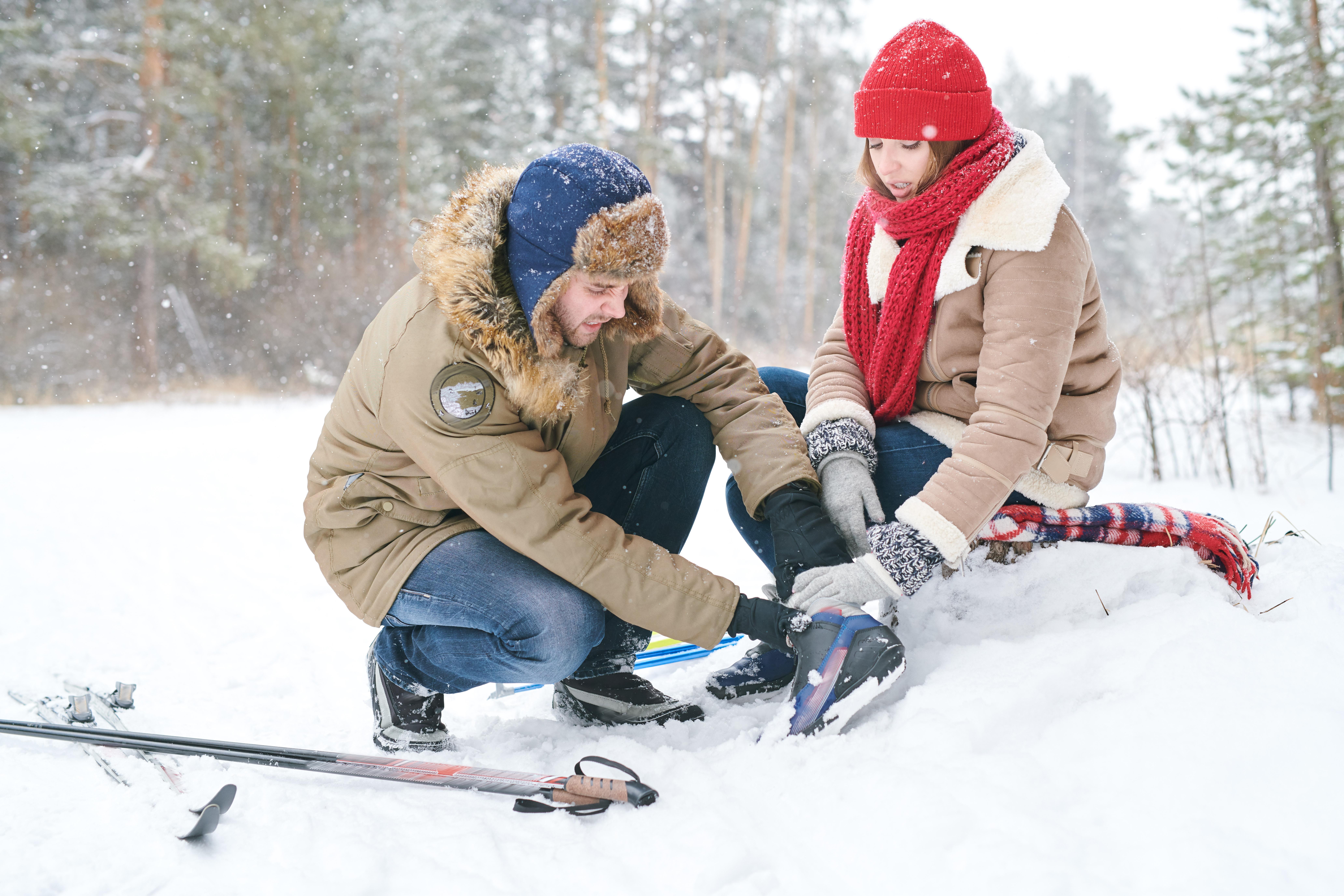 Як запобігти травми і падіння на снігових схилах