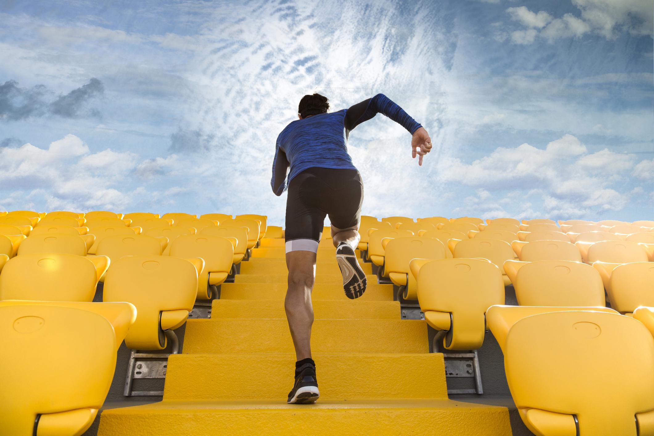 Сходинка за сходинкою. Кращі вправи для схуднення з допомогою драбини