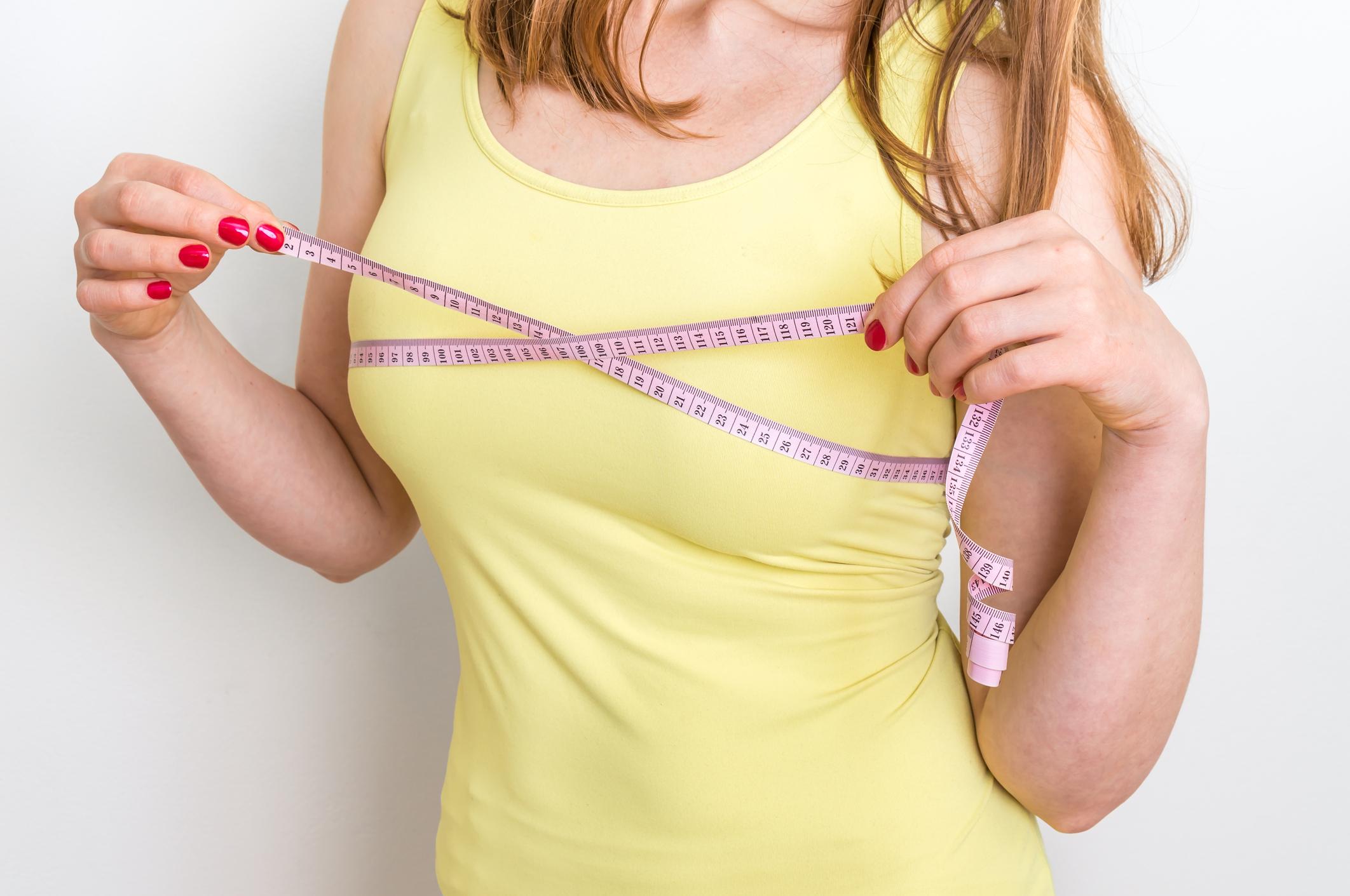 Як накачати жіночі груди в домашніх умовах