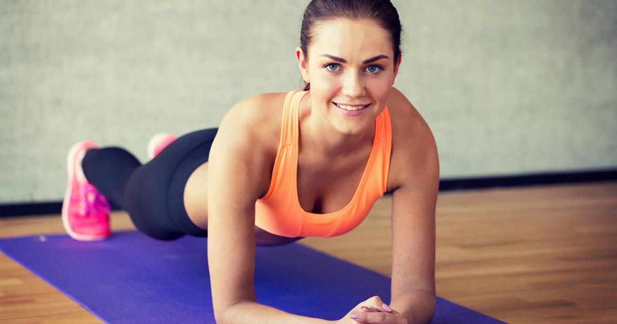 6 вправ для зміцнення грудних м'язів
