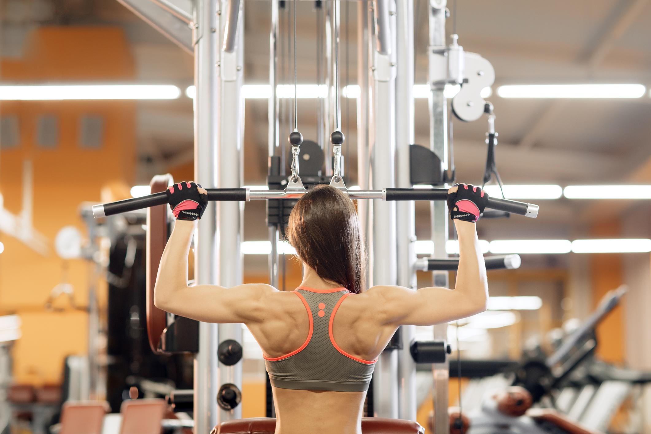 Вправи на кожну групу м'язів для новачків у залі