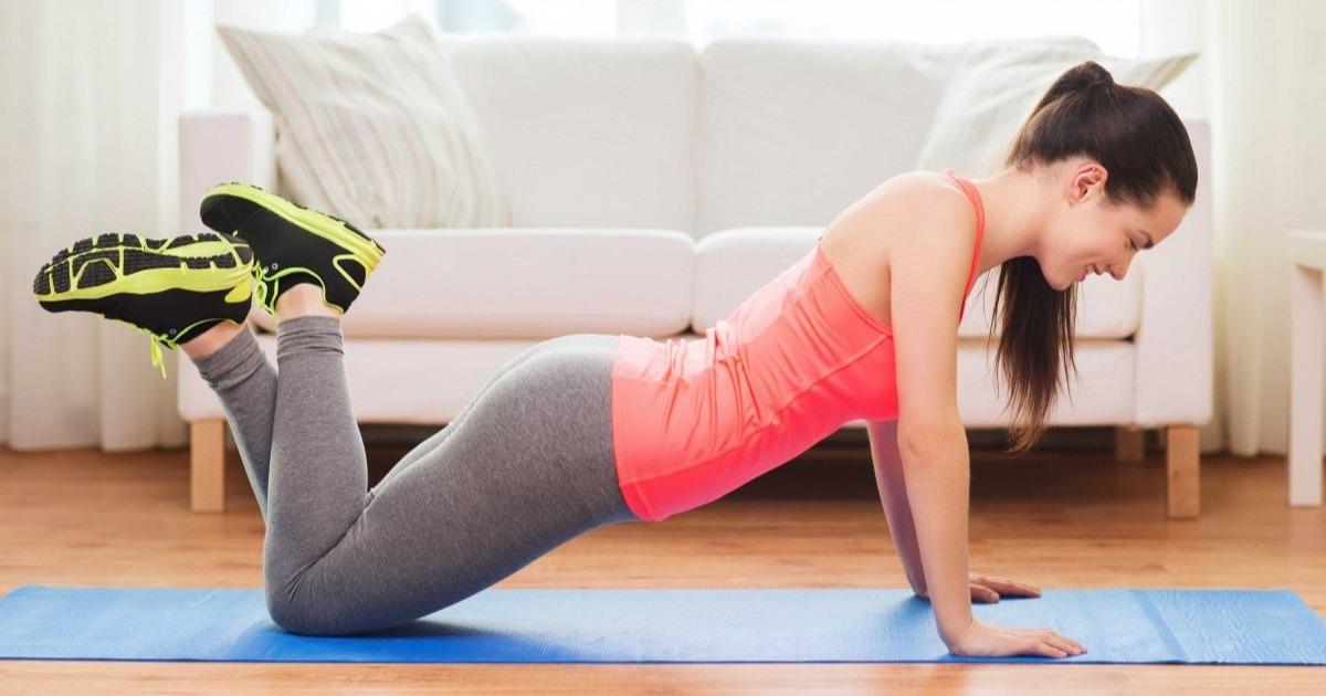 24 вправи, для яких не потрібно устаткування