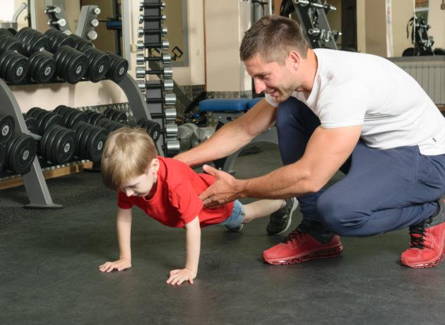8 причин, чому дітям потрібно займатися силовими тренуваннями