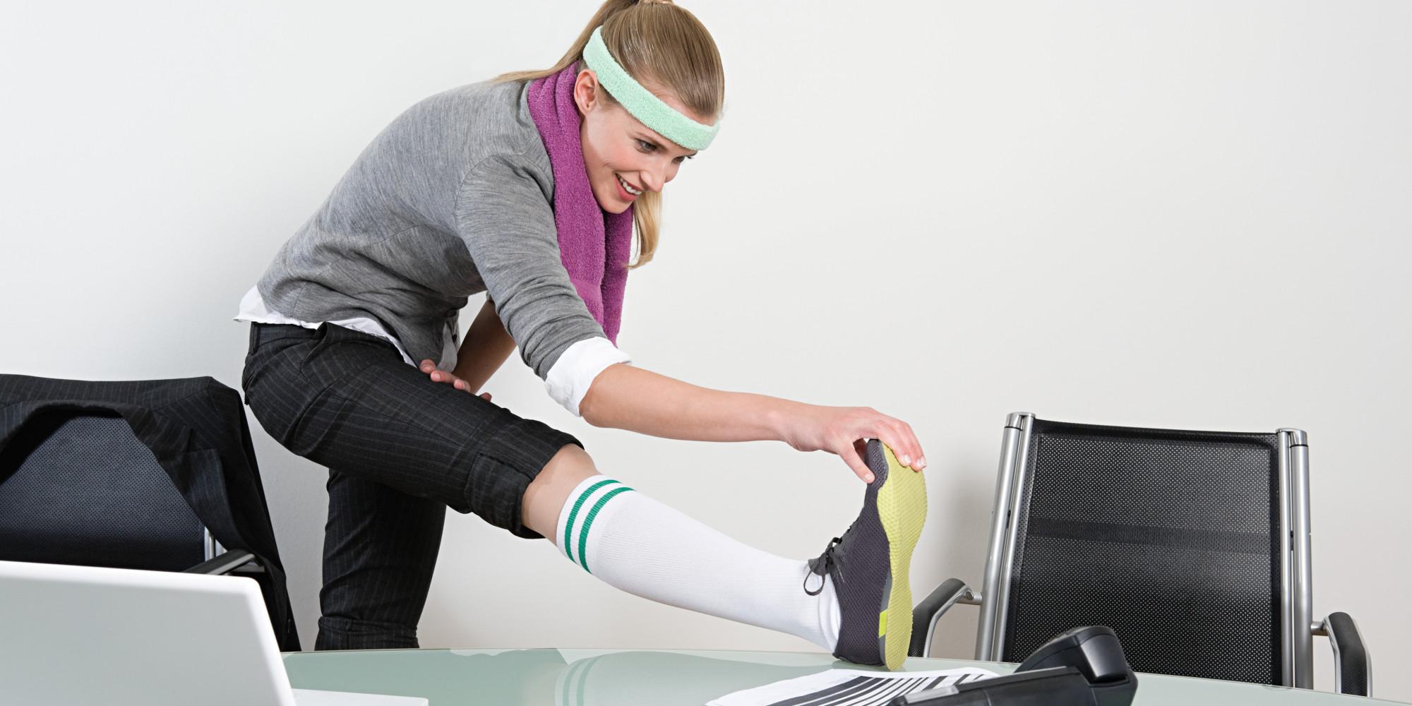 Тренування на робочому місці для боротьби із зайвою вагою