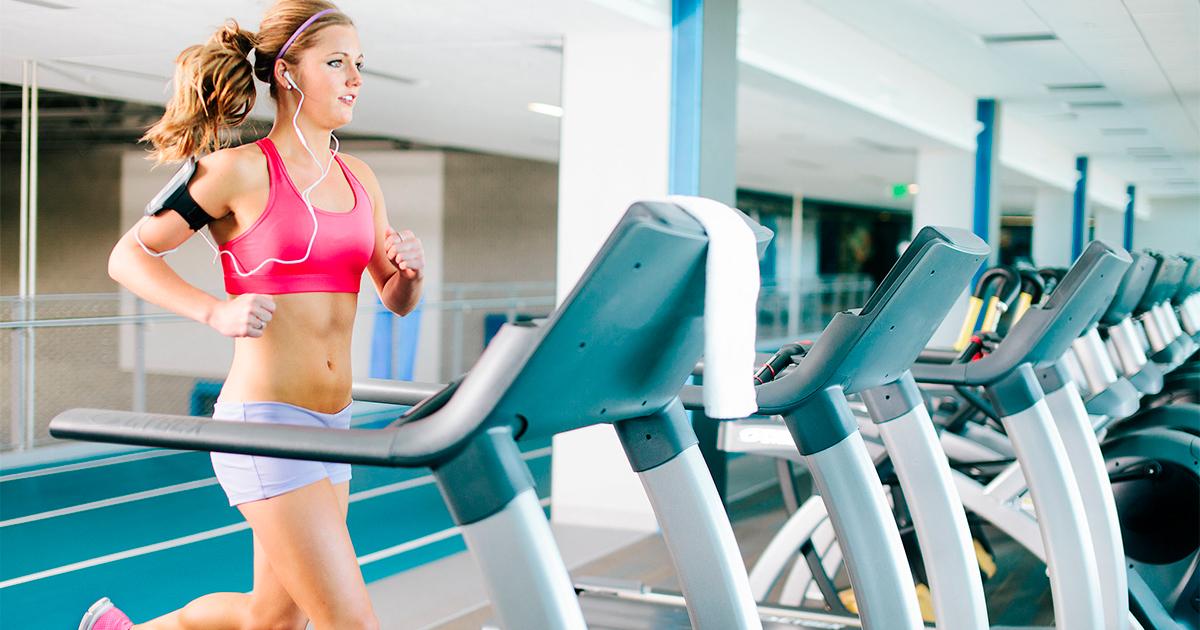 Кращі 10-хвилинні вправи на біговій доріжці
