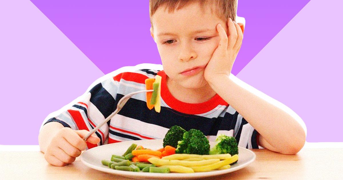 Як впоратися з прискіпливим до їжі дитиною у віці 5-8 років
