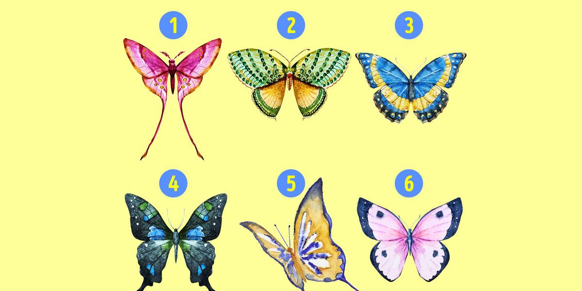Психологічний тест: Виберіть вподобану метелика, щоб дізнатися приховані особливості характеру