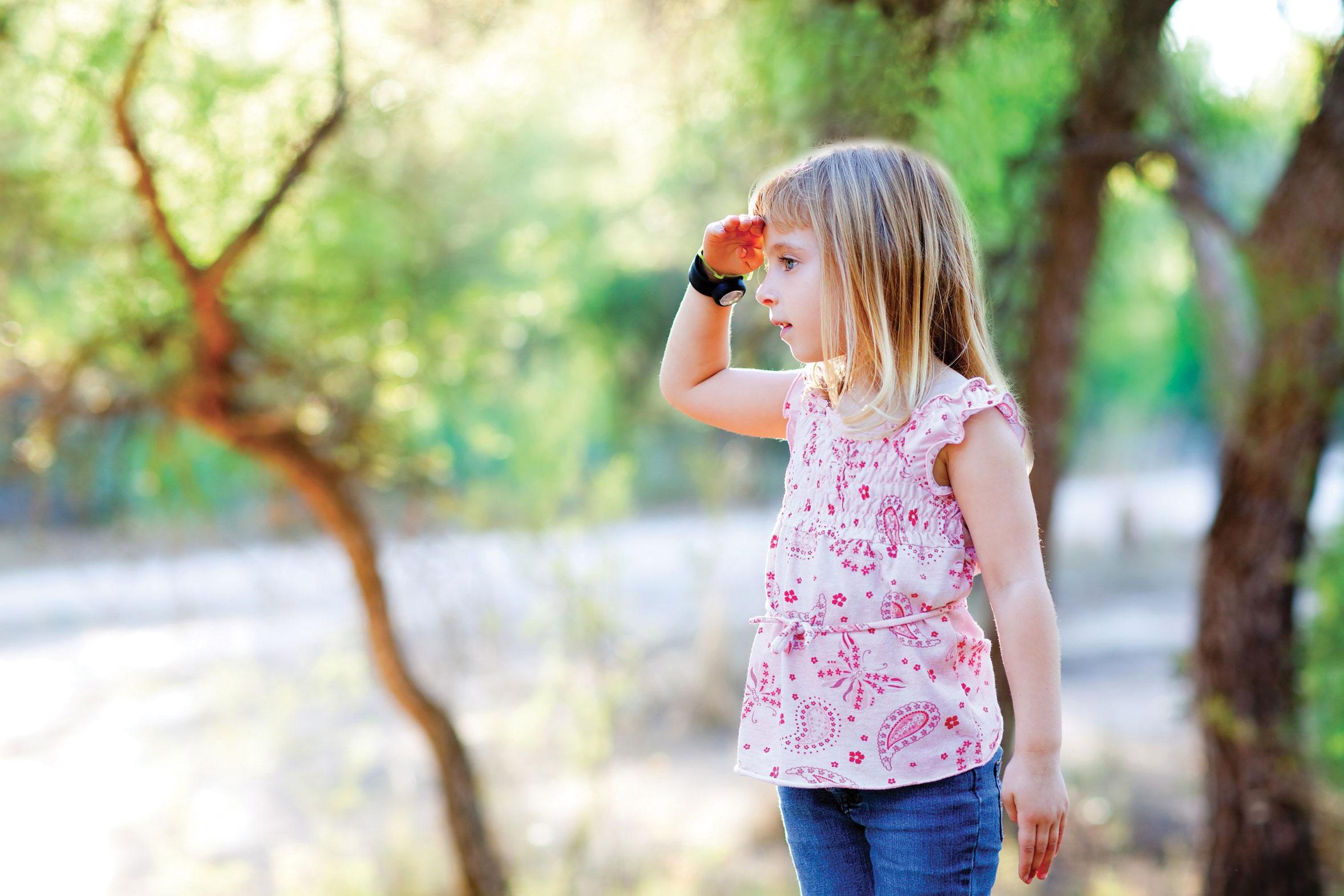 Прості правила для заблукалого дитини