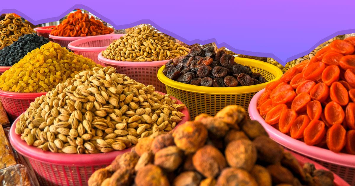 Як вибрати горіхи і сухофрукти з максимальною корисністю