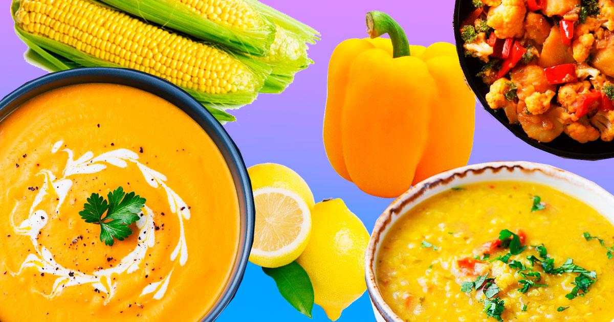 Сонячна страви: 10 рецептів страв в жовтому кольорі