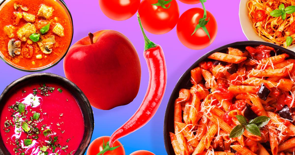 Червоний смак: 10 рецептів страв червоного кольору