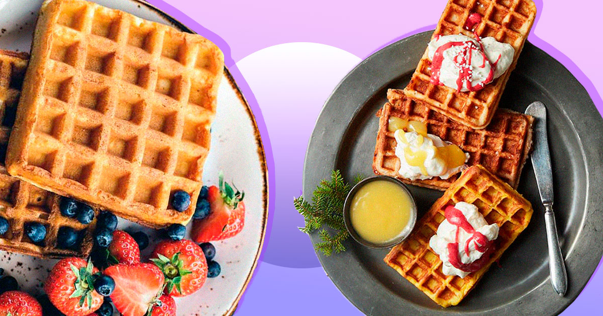 10 рецептів бельгійських вафель для смачного весняного сніданку