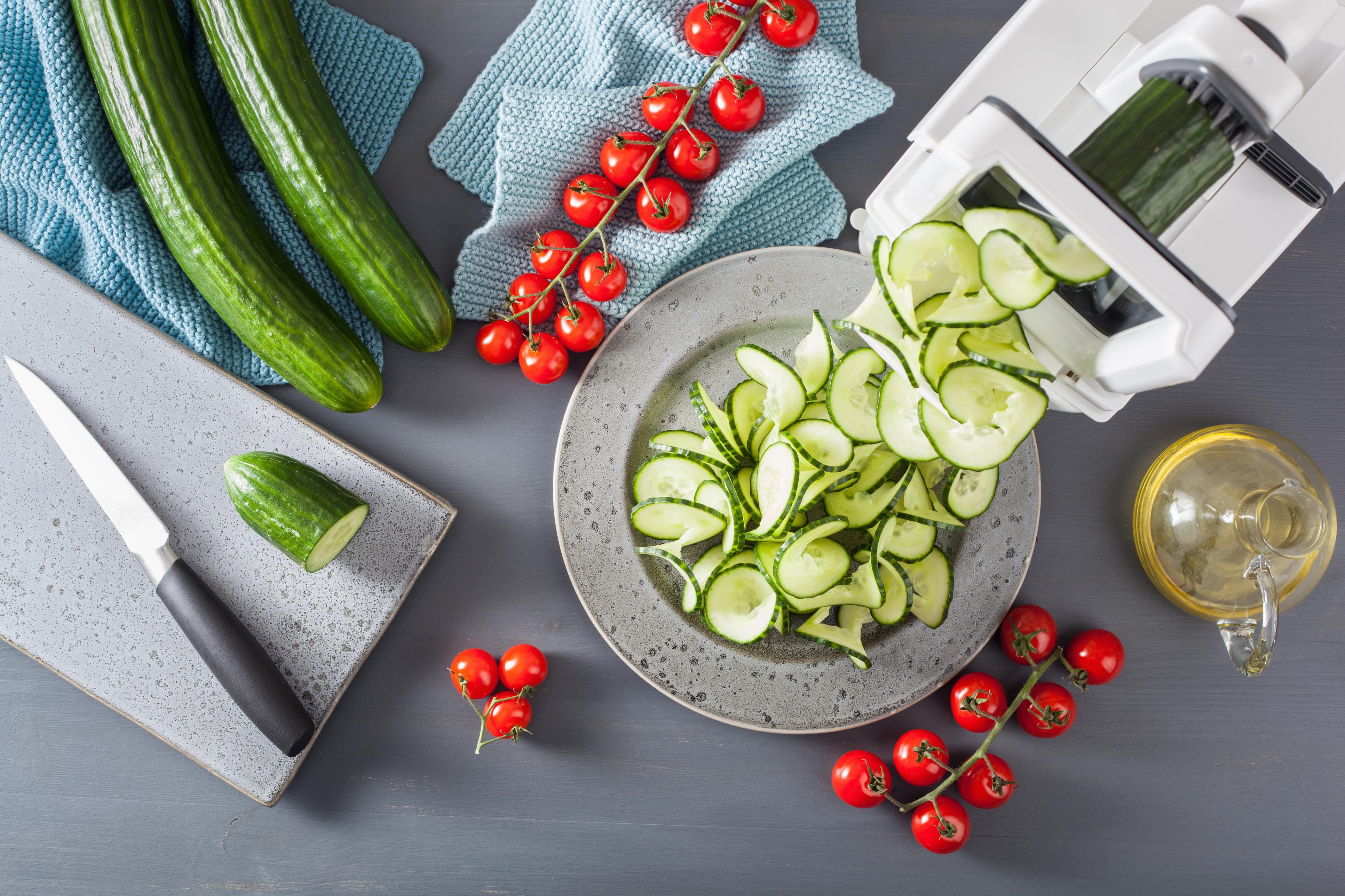 Корисний вечеря: рецепти пасти з огірків