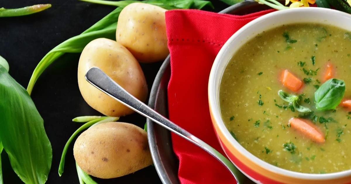 2 рецепту картопляного крем-супу для ситного обіду