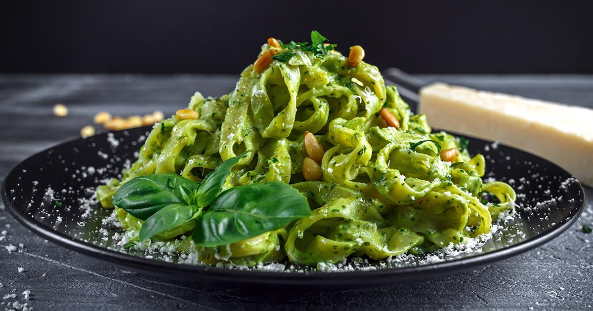 2 найпростіших рецептів вегетаріанської пасти