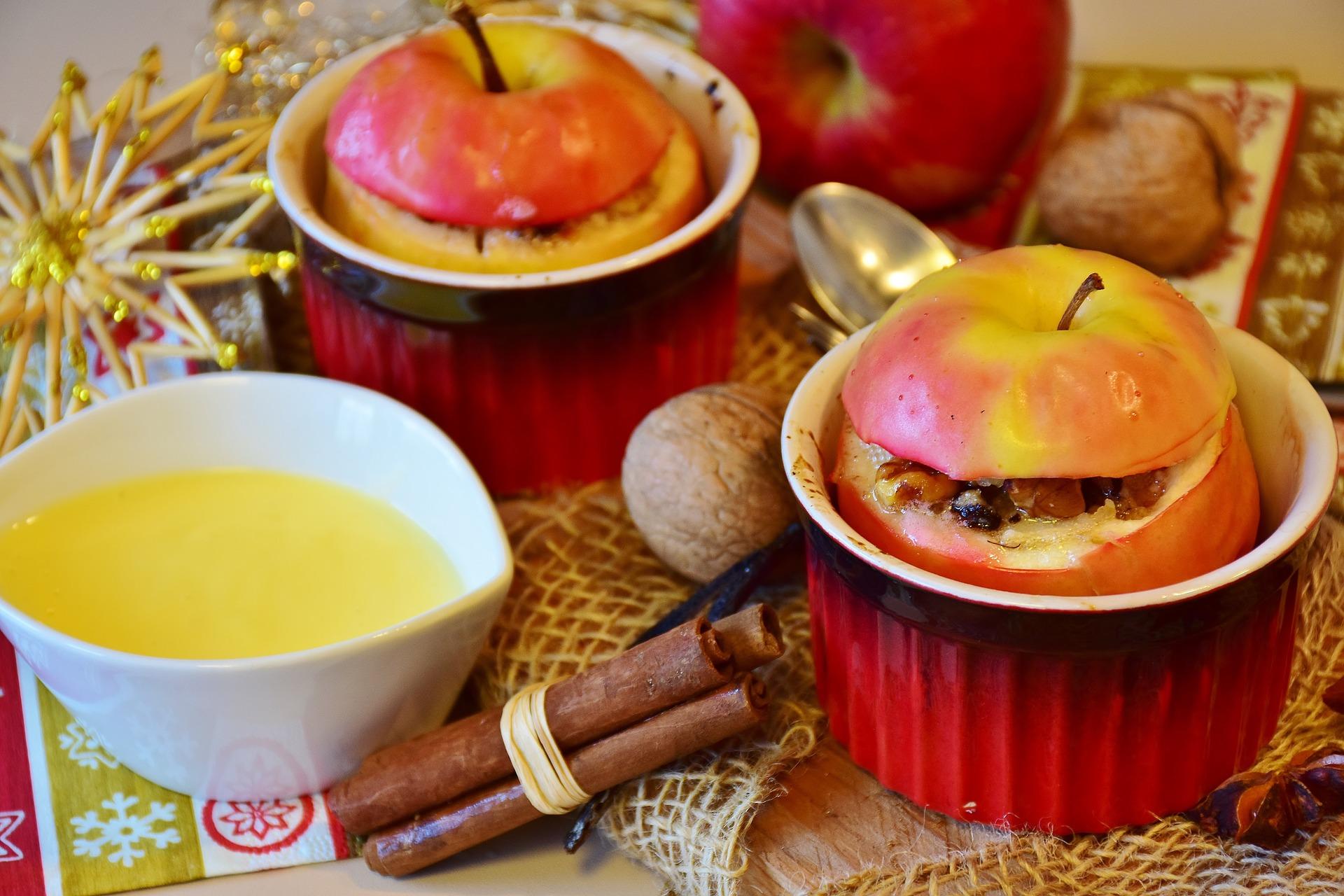 3 небанальних рецепти запечених яблук